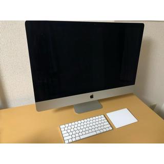マック(Mac (Apple))のOA様専用【美品】2017 iMac 5K 27inch AppleCare+(デスクトップ型PC)