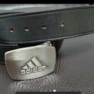 アディダス(adidas)の【推奨品】アディダス本革ベルト(ベルト)