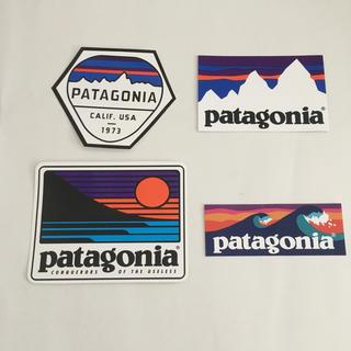 パタゴニア 公式 ステッカー 4枚