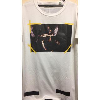 オフホワイト(OFF-WHITE)の国内正規品 ❤ 本物 オフホワイト tシャツ デニム パーカー スニーカー 新作(Tシャツ/カットソー(半袖/袖なし))