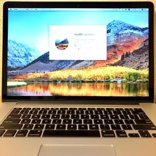 マック(Mac (Apple))のMacBook Pro Retina 15インチ 1TB SSD 2015 美品(ノートPC)