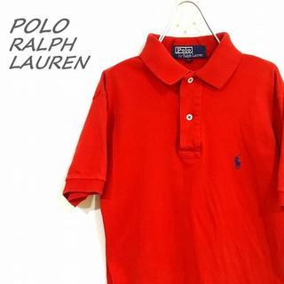 ポロラルフローレン(POLO RALPH LAUREN)のポロラルフローレン ポロシャツ 半袖  赤 I-308(ポロシャツ)