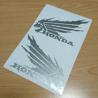 ホンダ - 【送料込み】カッティングステッカー ホンダ ウィング スカル HONDA