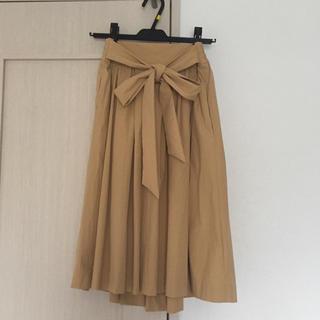 ジュエルチェンジズ(Jewel Changes)のジュエルチェンジズ リボンベルトスカート(ひざ丈スカート)