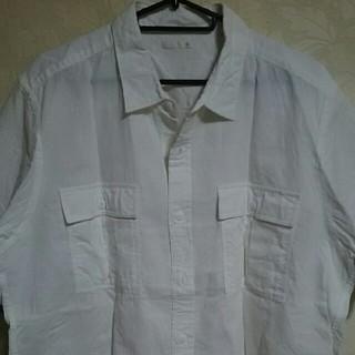 GUリネンシャツ