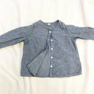 ムジルシリョウヒン(MUJI (無印良品))の無印良品 シャツ 90(ブラウス)