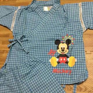 ディズニー(Disney)のディズニー 甚平 キッズ ミッキー(甚平/浴衣)