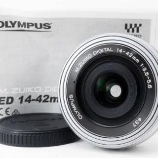 オリンパス(OLYMPUS)のM.ZUIKO DIGITAL ED 14-42mm F3.5-5.6 EZ (レンズ(ズーム))