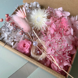ハーバリウム♡︎花材♪ピンク(3色)(プリザーブドフラワー)