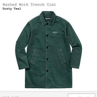 シュプリーム(Supreme)の2018SS Supreme Washed Work Trench Coat S(トレンチコート)