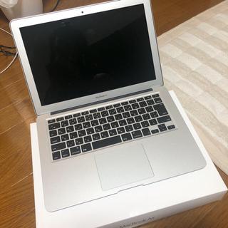 マック(Mac (Apple))の(時間限定価格) MacBook Air 2017年製128G容量増加デスク付(ノートPC)