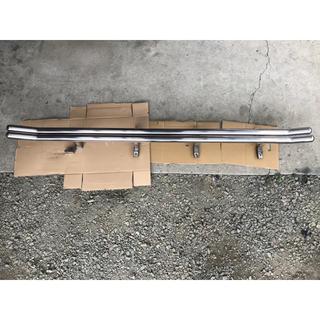 三菱 - デリカD5 サイドアンダーガードバー