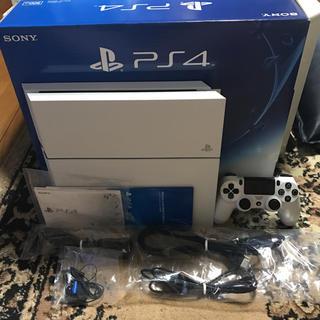 PlayStation4 - ps4 本体  ホワイト  CUH‐1200A 500GB