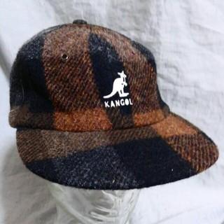 カンゴール(KANGOL)のKANGOL カンゴール ウール チェック キャップ デッドストック (キャップ)