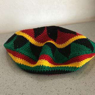ラスタタム ベレー帽(ハンチング/ベレー帽)