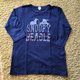 シップス(SHIPS)のSHIPS スヌーピー 七分袖Tシャツ(Tシャツ/カットソー)