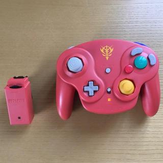 非売品 シャア専用 ゲームキューブ 無線コントローラー(家庭用ゲーム本体)