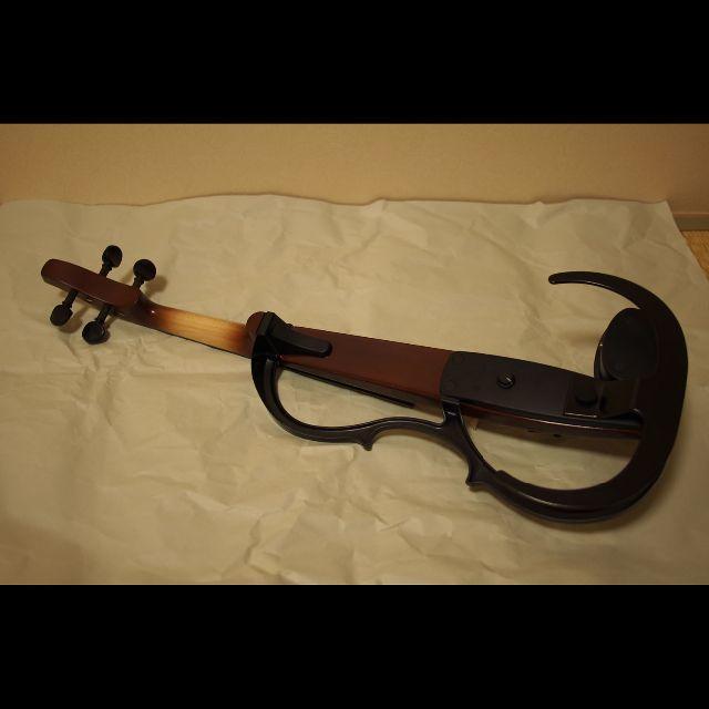 ヤマハ(ヤマハ)のヤマハ サイレントバイオリン YSV-104 BR 楽器の弦楽器(ヴァイオリン)の商品写真