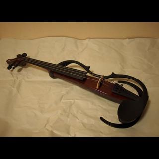 ヤマハ(ヤマハ)のヤマハ サイレントバイオリン YSV-104 BR(ヴァイオリン)