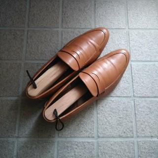 ショセ(chausser)のショセ plus by chausser  茶ローファー(ローファー/革靴)