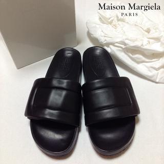 マルタンマルジェラ(Maison Martin Margiela)の新品■マルジェラ■17ss■ブラック■フューチャーサンダル■28cm■4035(サンダル)