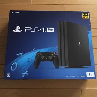 PlayStation4 - 新品未開封 PS4 Pro 1TB ジェットブラック 送料込み
