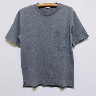 ジーユー(GU)のジーユー GU ヘビーウェイト ビッグTシャツ ポケット付き(シャツ)