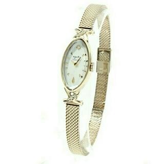 アガット(agete)のagete CLASSIC   オーバルフェイスジュエリーウォッチ(腕時計)