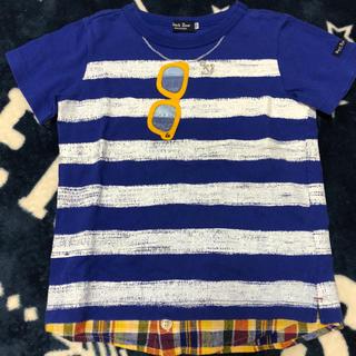mikihouse - ミキハウス ブラックベア メガネTシャツ