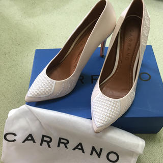 カラーノ(CARRANO)のcarrano カラーノ 刺繍パンプス(ハイヒール/パンプス)