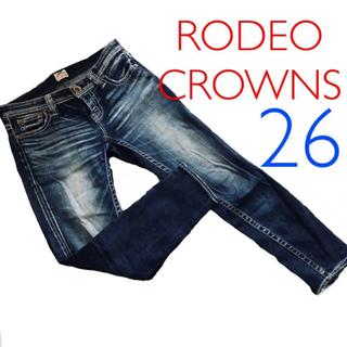 RODEO CROWNS - ロデオクラウンズ スキニーデニム