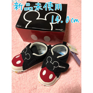 ディズニー(Disney)の新品未使用 ミッキーマウス シューズ 14.0(スニーカー)