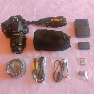 ニコン(Nikon)のNicon D3200 ダブルズームキット(デジタル一眼)