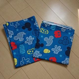 ディズニー(Disney)のミッキー 子供用布団カバー・シーツ(シーツ/カバー)