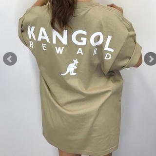 カンゴール(KANGOL)のmink kangol ベージュ Tシャツ(Tシャツ(半袖/袖なし))