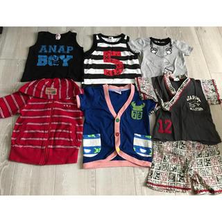 アナップキッズ(ANAP Kids)の男の子 まとめ売り 90〜100(Tシャツ/カットソー)