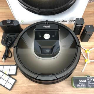 アイロボット(iRobot)の美品 ルンバ 980 リチウムイオン電池付 メンテナンス済(掃除機)