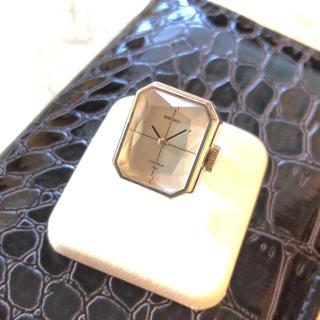 セイコー(SEIKO)の【SEIKO】リングウォッチ カットガラス WH-1242(リング(指輪))