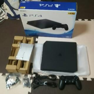 プレイステーション4(PlayStation4)の美品 PS4 500GB CUH-2100A(家庭用ゲーム本体)