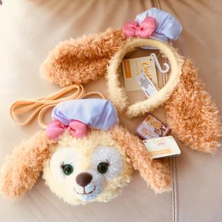 Disney - 新品 香港ディズニー クッキーちゃん♡カチューシャとバッグのセット