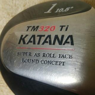 カタナ(KATANA)のオススメ KATANA カタナ TM320 Ti 10.5度 硬さR ドライバー(クラブ)