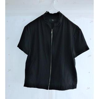 ヨウジヤマモト(Yohji Yamamoto)のY's 半袖ブルゾン(シャツ/ブラウス(半袖/袖なし))