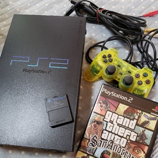 PS2本体 ソフト セット(家庭用ゲーム本体)