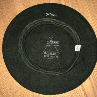 グッドイナフ(GOODENOUGH)の激レア グッドイナフxカンゴール ベレー帽 クラシックロゴ KANGOL (ハンチング/ベレー帽)