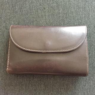 ホワイトハウスコックス(WHITEHOUSE COX)のWHITEHOUSE COX  三つ折り財布 ブラウン×ブルー(折り財布)