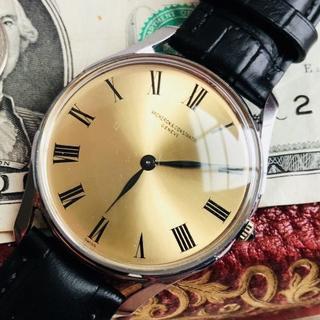 ヴァシュロンコンスタンタン(VACHERON CONSTANTIN)のヴァシュロン ヴィンテージ腕時計 アンティーク高級ブランド手巻き メンズ (腕時計(アナログ))