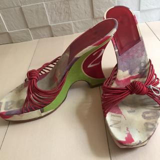 クリスチャンディオール(Christian Dior)のクリスチャンディオール サンダル(ミュール)