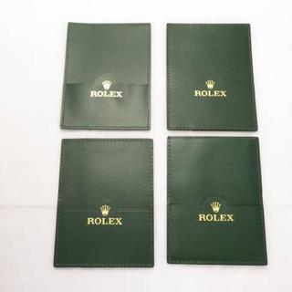 ロレックス(ROLEX)のROLEX ロレックス 縦型カードケース 4冊セット 純正(その他)