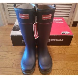 ハマー(HUMMER)のハマー H2-01 インディゴ 26センチ(長靴/レインシューズ)