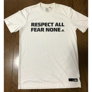 アディダス(adidas)のadidas Tシャツ 白 (Tシャツ/カットソー(半袖/袖なし))